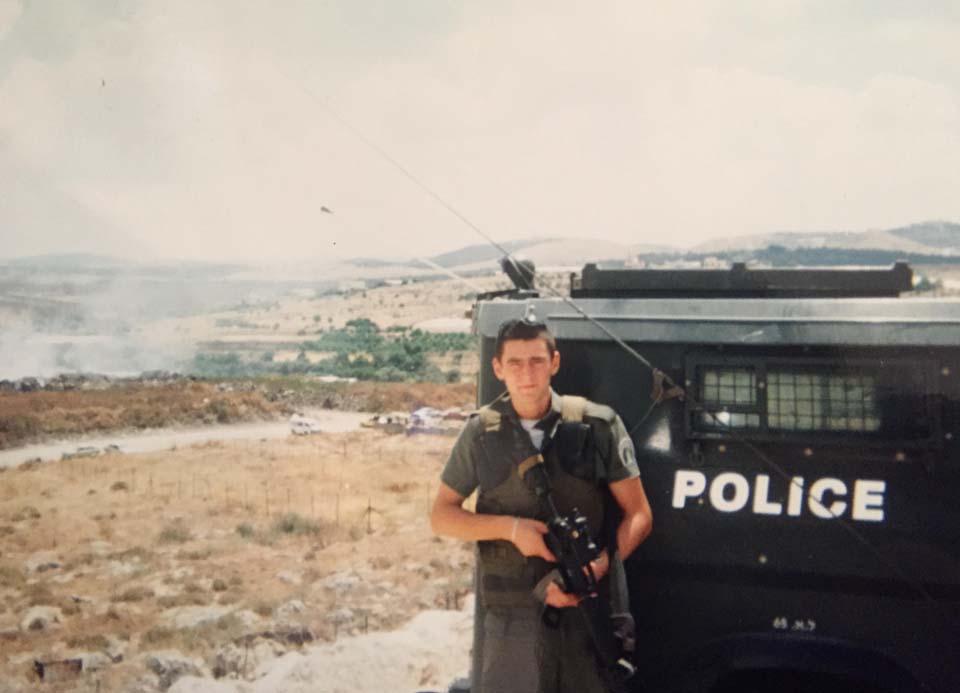 Михаэль Чебунин, боец спецназа, тоже пострадавший в аналогичном деле. Фото из семейного архива