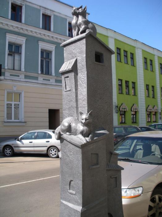 Коты на крыше, официальное название «Старый город». / Фото: www.russoturista.ru